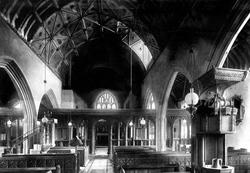 Swimbridge, Church Interior 1900