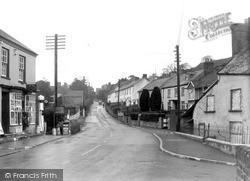 Swimbridge, Post Office And Village c.1950