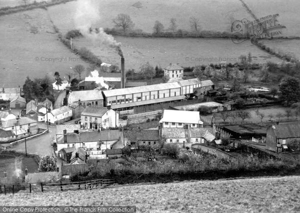 Swimbridge,the Mill c1955,Devon
