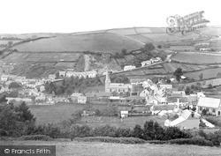 Swimbridge, Village c.1890