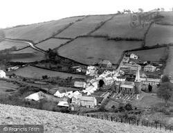 Swimbridge, Village c.1950