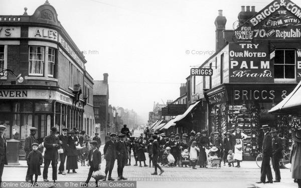 Swindon, Cromwell Street c1913