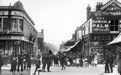 Swindon, Cromwell Street c.1913