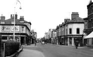 Swindon, Faringdon Road c1955