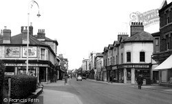 Swindon, Faringdon Road c.1955