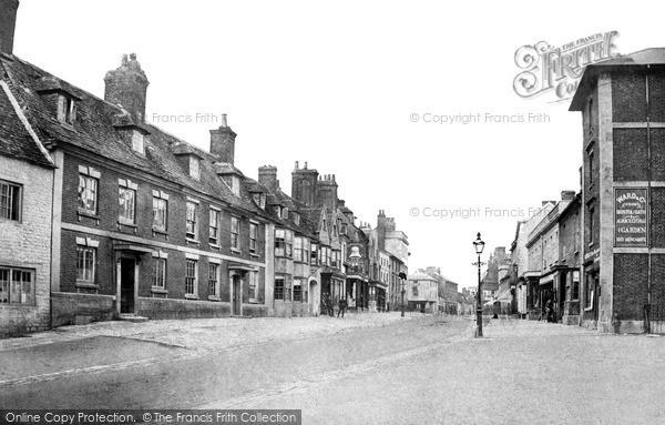 Swindon, Old Town, High Street 1905