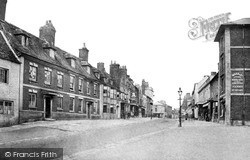 Swindon, Old Town, High Street c.1880