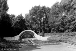 Swindon, Open Air Theatre, Town Gardens 1948