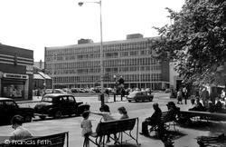 Regent Circus And The College c.1965, Swindon
