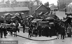 Swindon, The Market 1901