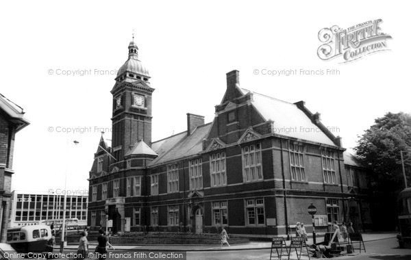Swindon, The Town Hall C.1965