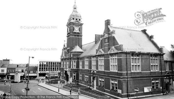 Swindon, Town Hall C.1965