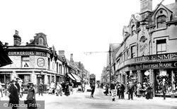 Tram Centre  c.1919, Swindon