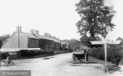 Swindon, Upper Stratton, Highworth Road 1913