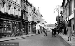 Swindon, Wood Street c.1950