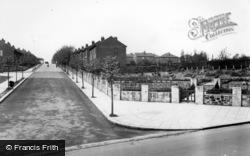 Swinton, Common, Rookery Road Corner c.1955