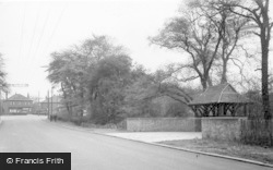 Swinton, Common, The Two Sisters Lychgate, Creighton Woods c.1955