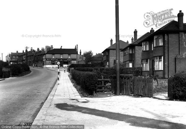 Photo of Swinton, Common, The Woodman Corner c.1955