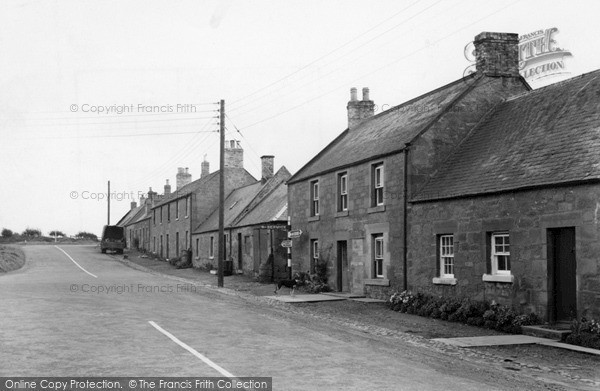 Photo of Swinton, Duns Road c.1950