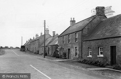 Duns Road c.1950, Swinton