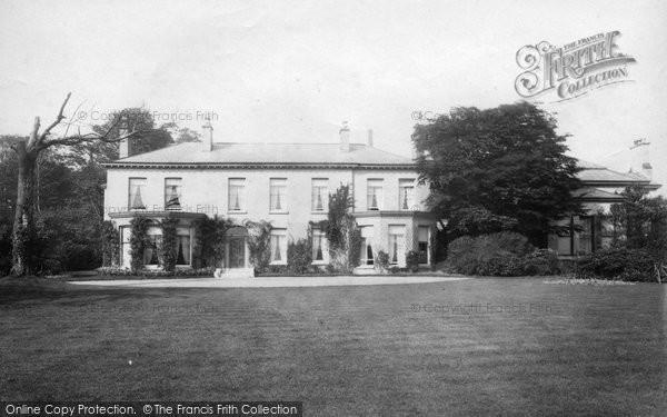 Swinton, Old Hall 1894