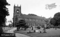 Swinton, Parish Church c.1955