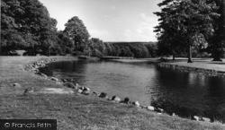 Conservative College, The Lake c.1960, Swinton Park