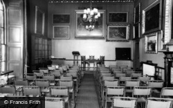 Conservative College, The Lecture Room c.1960, Swinton Park