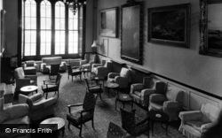 Conservative College, The Lounge c.1960, Swinton Park