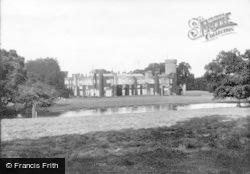 The Castle And Lake 1908, Swinton Park