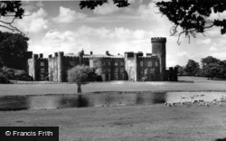 The Castle And Lake c.1960, Swinton Park