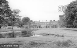 The Castle And Lake c.1965, Swinton Park