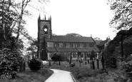 Swinton, the Parish Church c1955