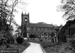 Swinton, St Margaret's Church c.1955
