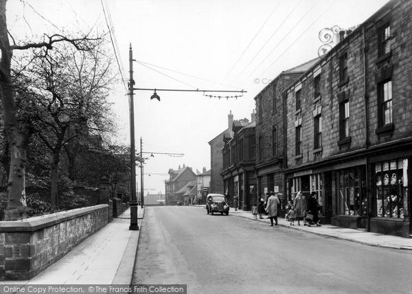 Swinton, Station Street c1955