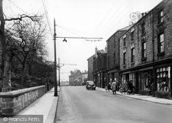 Swinton, Station Street c.1955