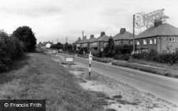 The Entrance To The Village c.1960, Swinton