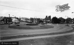 Swinton, The Roundabout c.1965