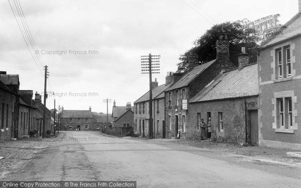 Photo of Swinton, The Village c.1955
