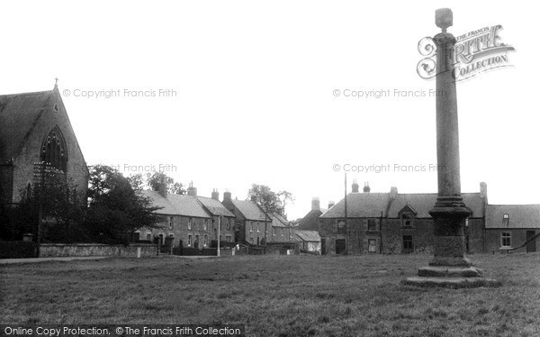 Photo of Swinton, Village Green c1955, ref. S418013