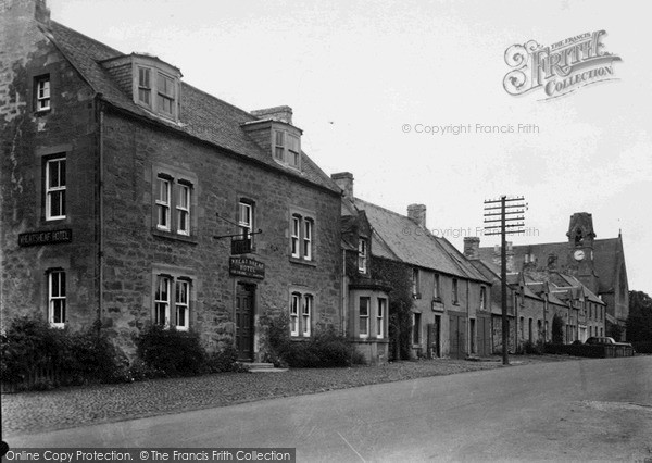 Photo of Swinton, Wheatsheaf Hotel, Main Street c.1955
