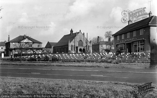 Swinton, Worsley Road and East Lancs Road c1955