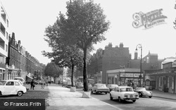Swiss Cottage, Finchley And Frognal Station c.1965