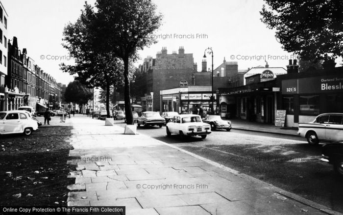 Photo of Swiss Cottage, Finchley And Frognal Station c.1965