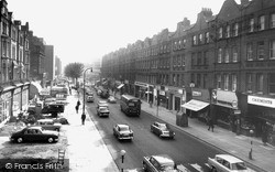Swiss Cottage, Finchley Road c.1965