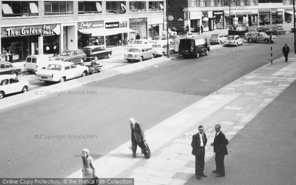 Photo of Swiss Cottage, Finchley Road c.1965