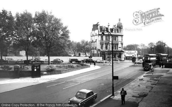Photo of Swiss Cottage, Finchley Road Shopping Centre c.1965
