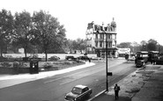 Swiss Cottage, Finchley Road Shopping Centre c1965