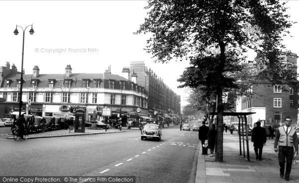 Photo of Swiss Cottage, Finchley Road Station c.1965