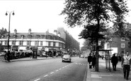 Swiss Cottage, Finchley Road Station c1965